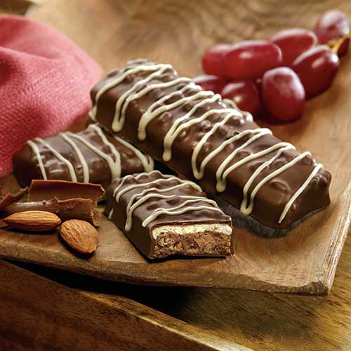 Almond Chocolate Bars | Meal Replacement Bar | Fit Well, MD